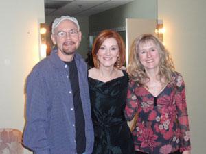 Bastidores com Dan Shea e Mary Pitchford