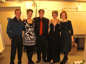Orla em Minneapolis no Concerto de Natal de John Trones (com John Trones e Jim Brickman)