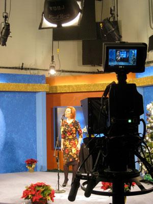 Orla ao vivo em televisão em Roanoke, VA