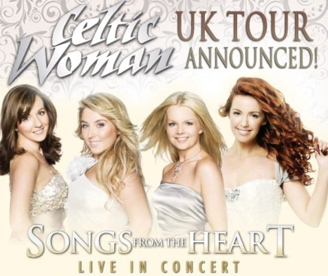 Celtic Woman, Reino Unido Tour